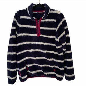 Mountain Warehouse Striped Sherpa Pullover Jacket